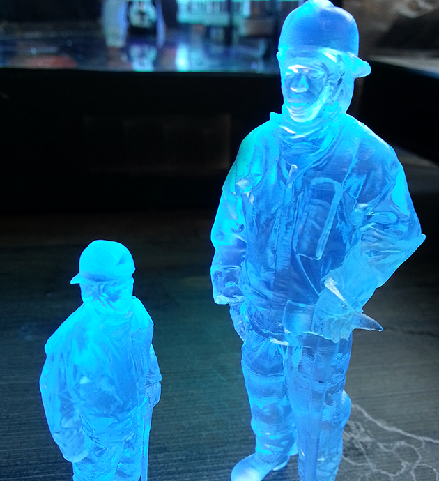 Fireman Sla 3D printed